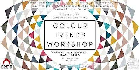 Colour Trends Workshop tickets