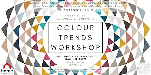 Colour Trends Workshop