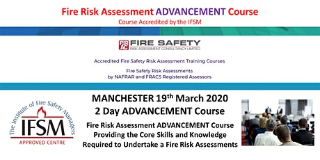 Advanced Fire Risk Assessment Training Course 2 Days tickets