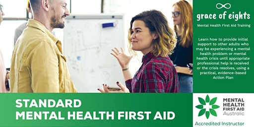Mental Health First Aid - Two Day Course