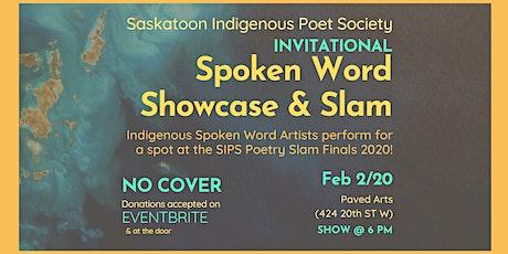 SIPS Invitational Spoken Word Showcase & Slam tickets