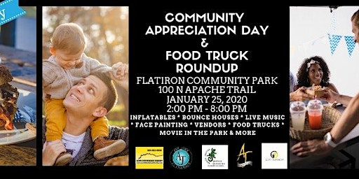 Community Appreciation Day & Food Truck Roundup