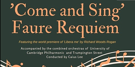 Come And Sing Faure's Requiem tickets