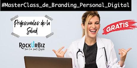 Branding Personal Digital para Profesionales de la Salud boletos
