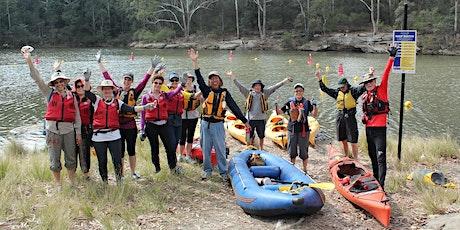 Kayaking Bushcare Volunteer Workday at Lake Parramatta - 23 August 2020 tickets