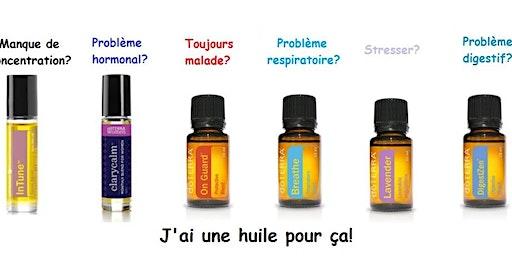 Atelier découverte huiles essentielles – Une Solution naturelle