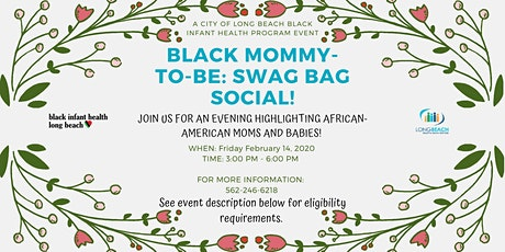 Black Mommy-To-Be: Swag Bag Social tickets