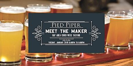 Meet the Maker: Cider Tasting tickets