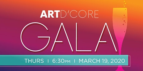 8th Annual Art d'Core Gala tickets