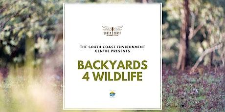 Backyards 4 Wildlife tickets