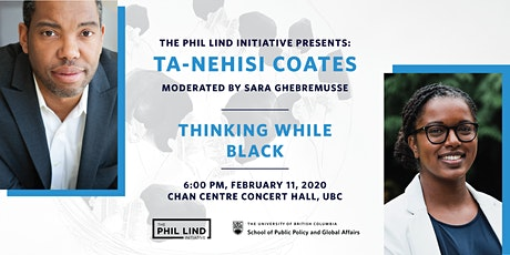 The Phil Lind Initiative Presents: Ta-Nehisi Coates tickets