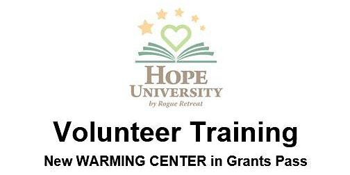 Warming Center Volunteer Training