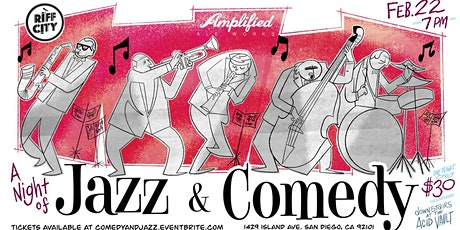 Comedy & Jazz @Amplified Ales East Village tickets