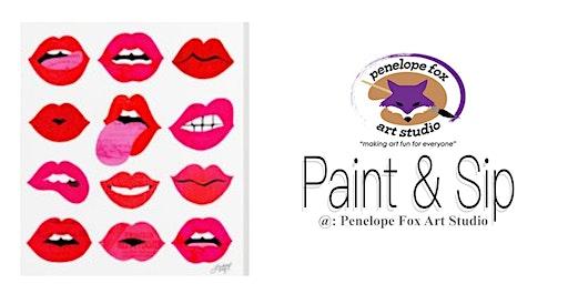 Paint & Sip @ Penelope Fox Art Studio