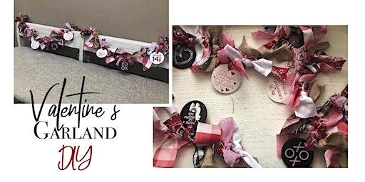 Valentine's Garland DIY Class