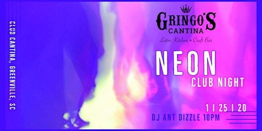 Glow Night at Club Cantina