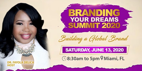 Branding Your Dreams  Summit 2020 tickets