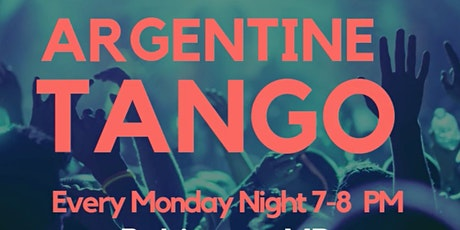 Argentine Tango Lessons tickets