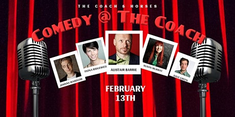 Comedy at The Coach tickets