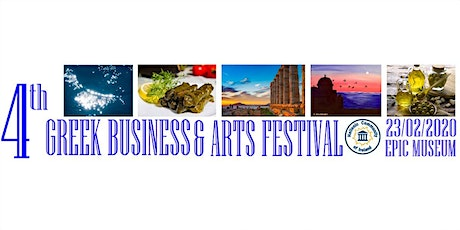 4th Greek Business and Arts Festival tickets