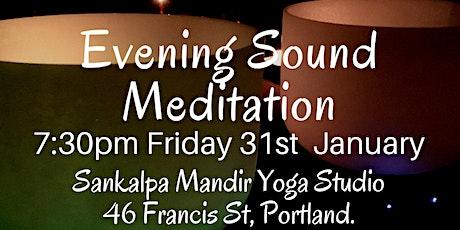 Evening Sound Meditation ~ Portland tickets