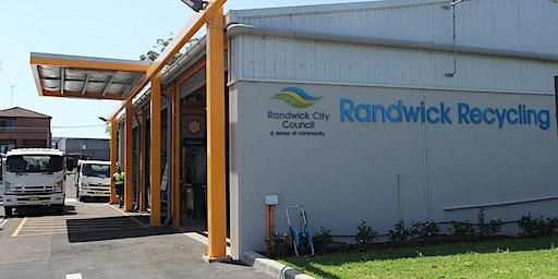 Tour of Randwick Recycling Centre
