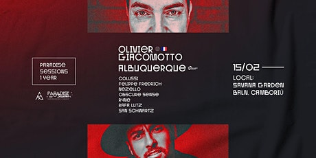 Paradise Sessions 1 ano c/ Olivier Giacomotto ingressos