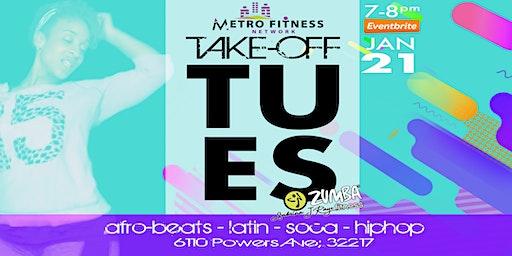 Take-Off Tuesday: Zumba w/ Sabrina JaRaye