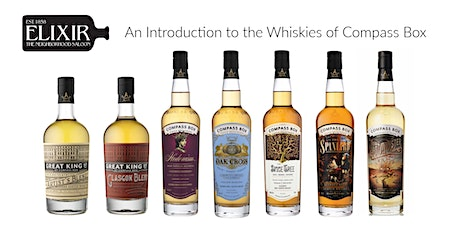 An Introduction to the Whiskies of Compass Box tickets