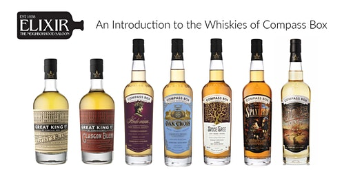 An Introduction to the Whiskies of Compass Box