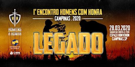 1° Encontro de Homens com Honra - Campinas/SP ingressos