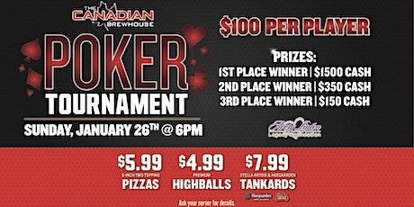 Regina Eastgate Poker Tournament! tickets