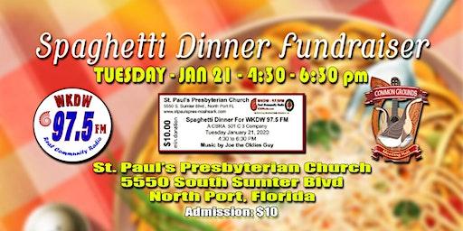 WKDW Radio Spaghetti Dinner Fundraiser