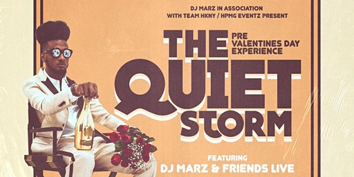 DJ MARZ PRESENTS: THE QUIET STORM ***PRE VALENTINE'S DAY EXPERIENCE***