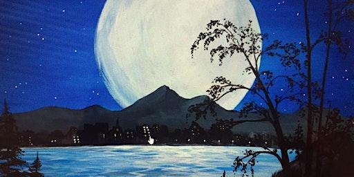Paint Night-Full Moon-no experience nec, really!