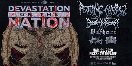 Devastation On the Nation  Tour with Rotting Christ, Borknagar, and more tickets