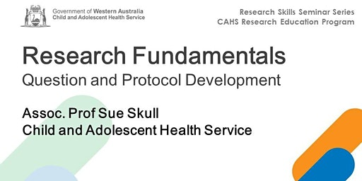 Research Skills Seminar: Research Fundamentals - 14 February
