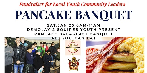 Pancake Breakfast, All You Can Eat Family Event