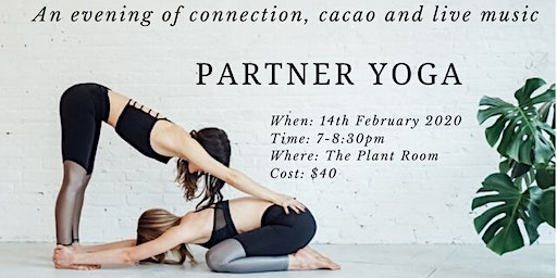 Partner Yoga, Live Music & Cacao on Valentine's Day