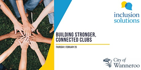 Building Stronger Connected Clubs tickets