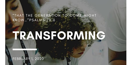Transforming- UPCA National Children's Ministries Seminar tickets