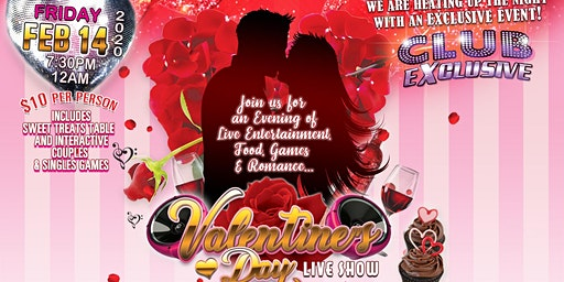 Club Exclusive Valentine's Day!