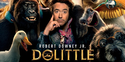 OUTDOOR MOVIE NIGHT - Dr Dolittle