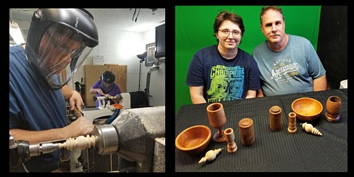 Woodpops Comprehensive Beginning Woodturning 14 hour Workshop