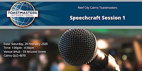 Speechcraft Session 1 tickets