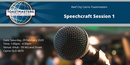 Speechcraft Session 1
