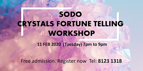SODO Crystals Fortune Telling Workshop tickets