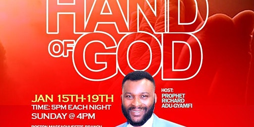 The Hand of God Prophetic Church Conference with Prophet Richard A Gyamfi