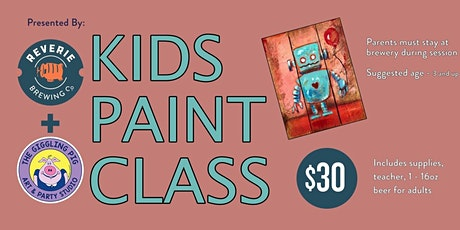 Kids Paint Class tickets