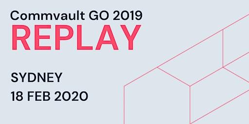 Commvault GO 2019 REPLAY - Sydney